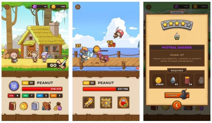 Game chặt chém hay nhất cho điện thoại Android/iPhone - Postknight