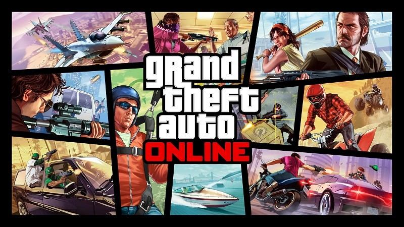 Game co-op hay cho PC - Grand Theft Auto Online