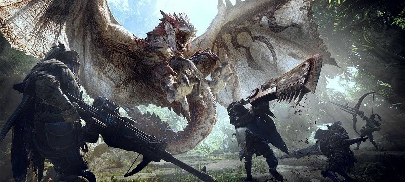 Game co-op hay cho PC - Monster Hunter: World