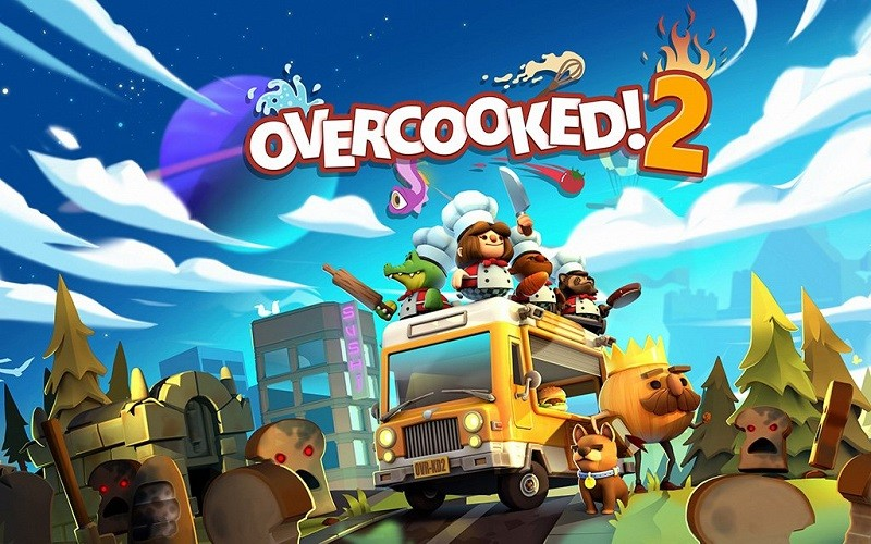 Game co-op hay cho PC - Overcooked! 2