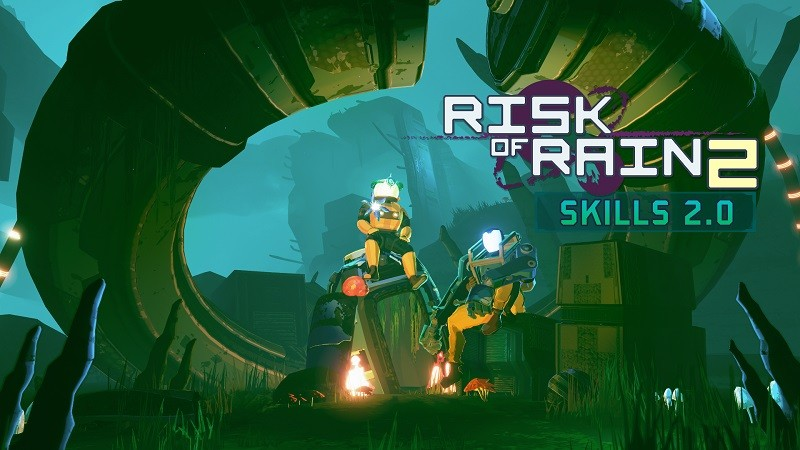 Game co-op hay cho PC - Risk of Rain 2
