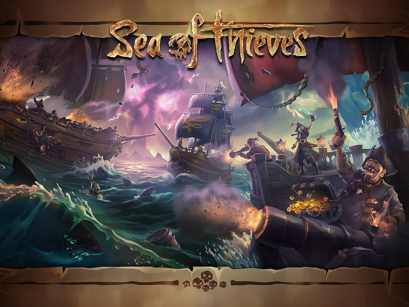 Game co-op hay cho PC - Sea of Thieves