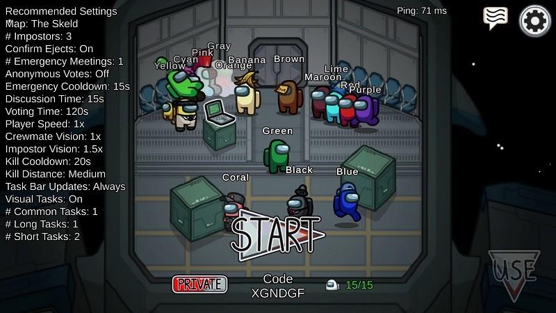 Game co-op hay trên điện thoại - Among Us