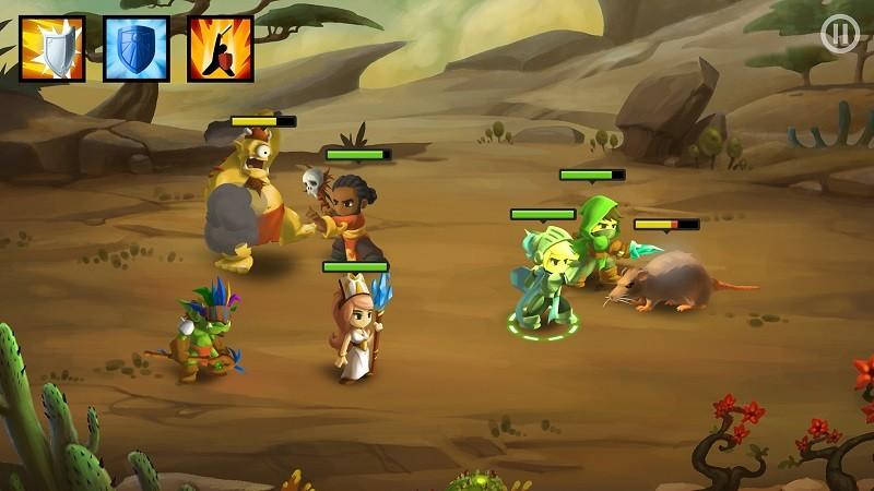 Game co-op hay trên điện thoại - Battleheart 2