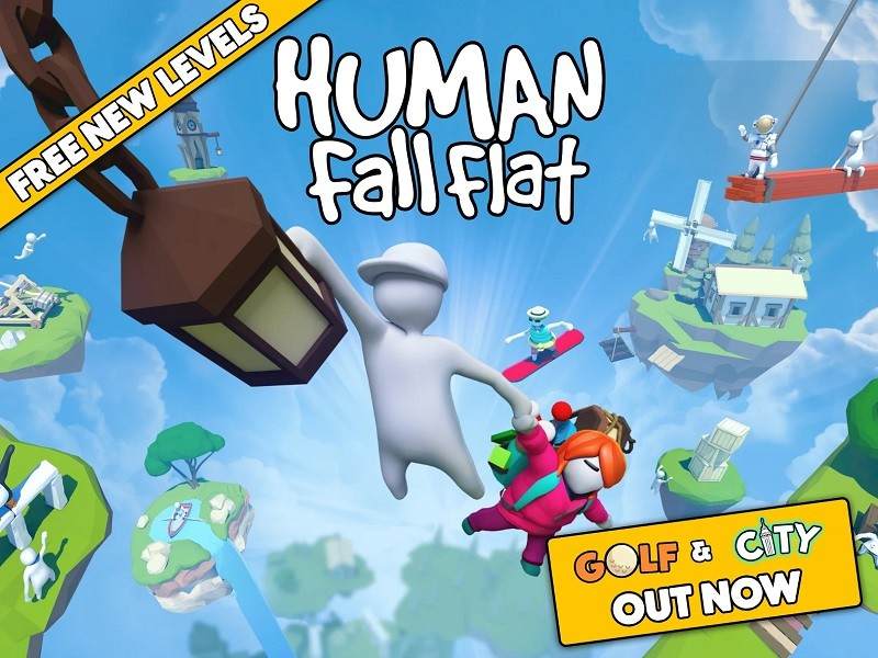 Game co-op hay trên điện thoại - Human: Fall Flat
