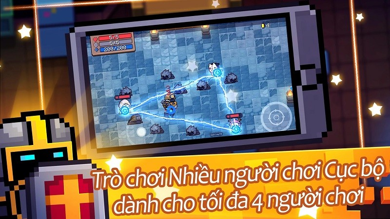 Game co-op hay trên điện thoại - Soul Knight
