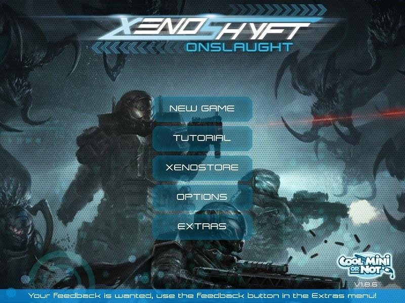 Game co-op hay trên điện thoại - XenoShyft
