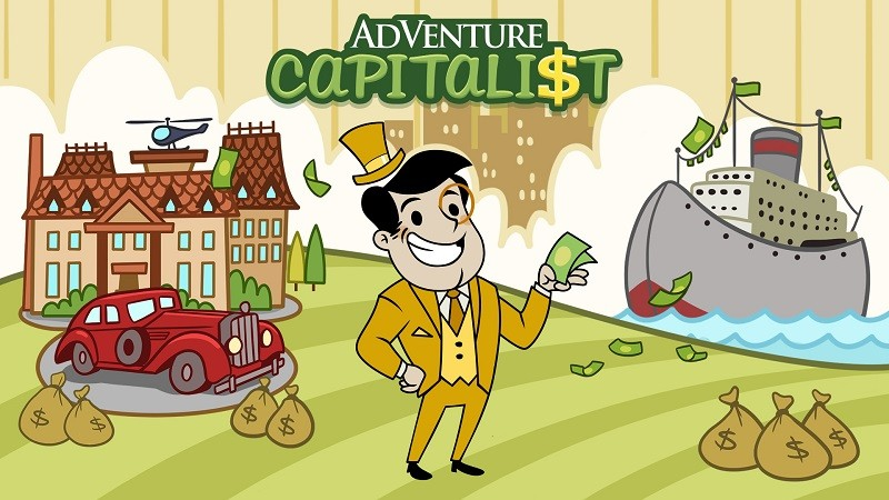 Game kinh doanh hay nhất cho Android/iPhone - AdVenture Capitalist