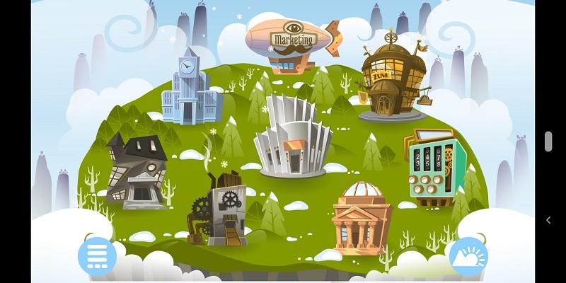 Game kinh doanh hay nhất cho Android/iPhone - Biztopia