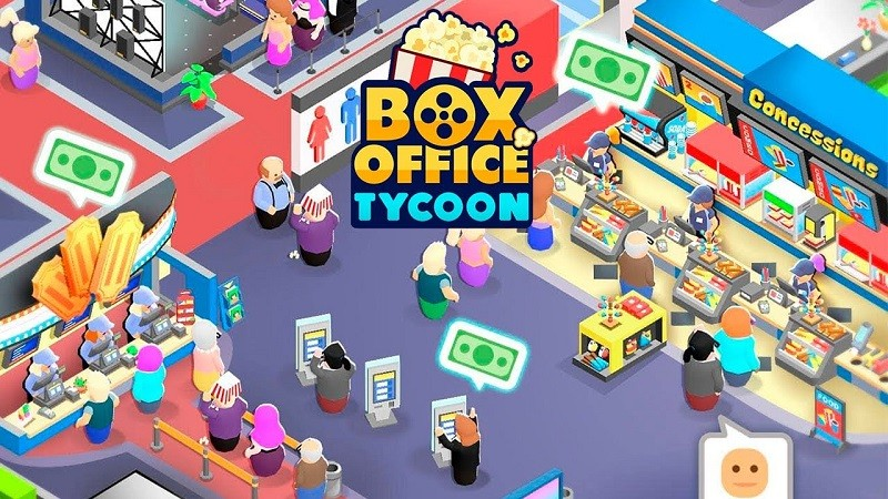Game kinh doanh hay nhất cho Android/iPhone - Box Office Tycoon