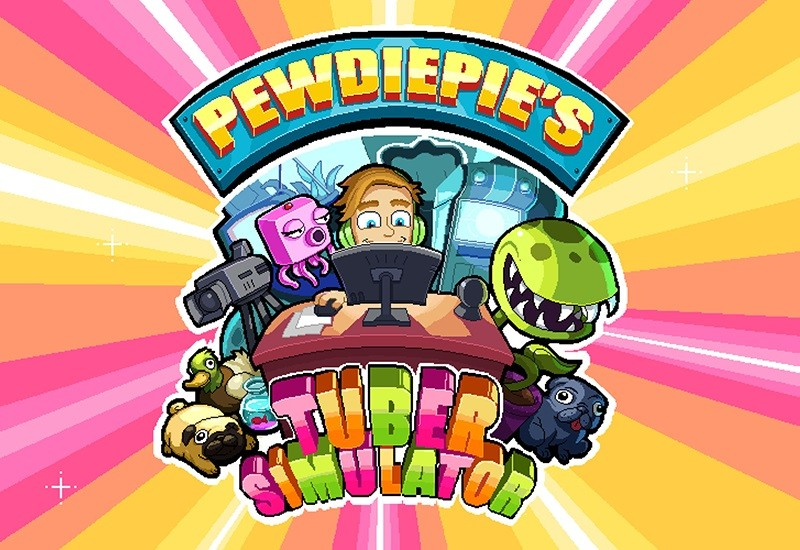 Game kinh doanh hay nhất cho Android/iPhone - Pewdiepie's Tuber Simulator