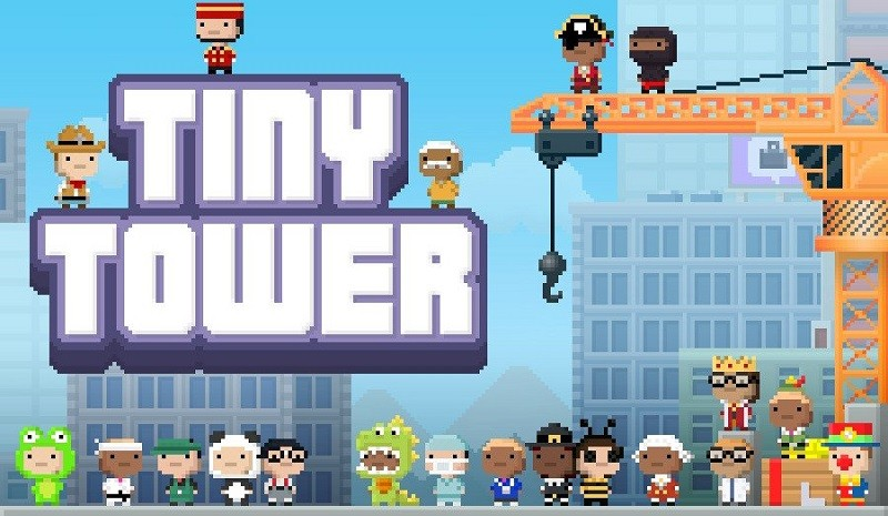 Game kinh doanh hay nhất cho Android/iPhone - Tiny Tower