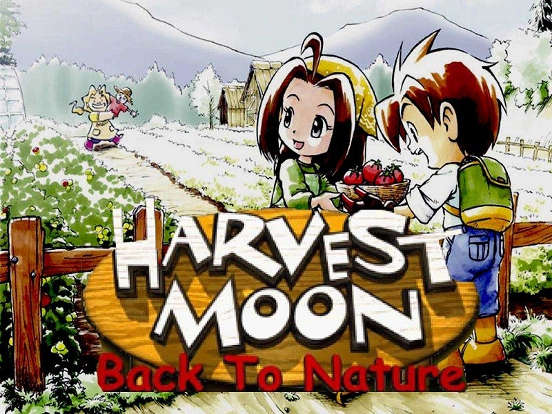 Game kinh doanh hay nhất cho PC - Harvest Moon: Back To Nature