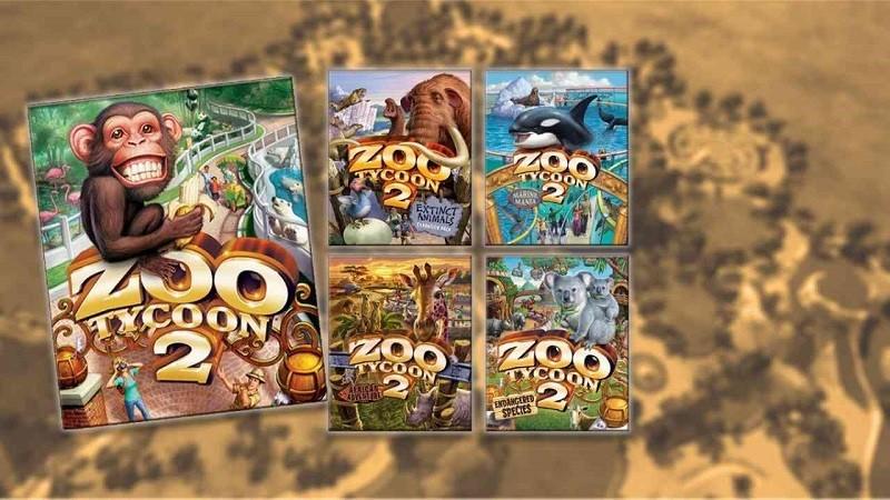 Game kinh doanh hay nhất cho PC - Zoo Tycoon 2