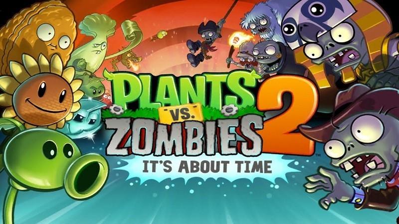 Game thủ thành (tower defense) hay nhất trên Android/iOS - Plants vs Zombies 2