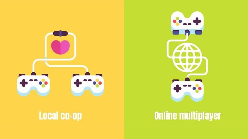 Local co-op vs Online multiplayer