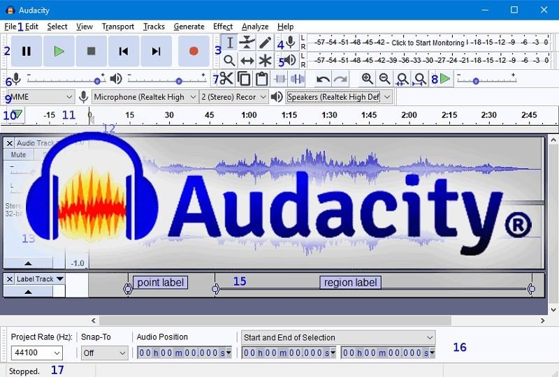 Phần mềm chỉnh giọng hát hay trên máy tính - Audacity