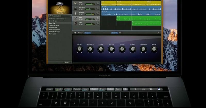 Phần mềm chỉnh giọng hát hay trên máy tính - GarageBand
