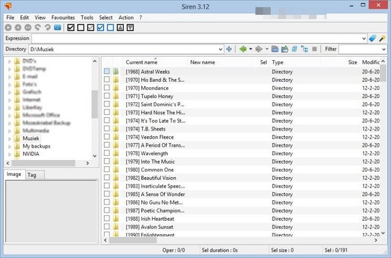 Phần mềm đổi tên File hàng loạt - Siren