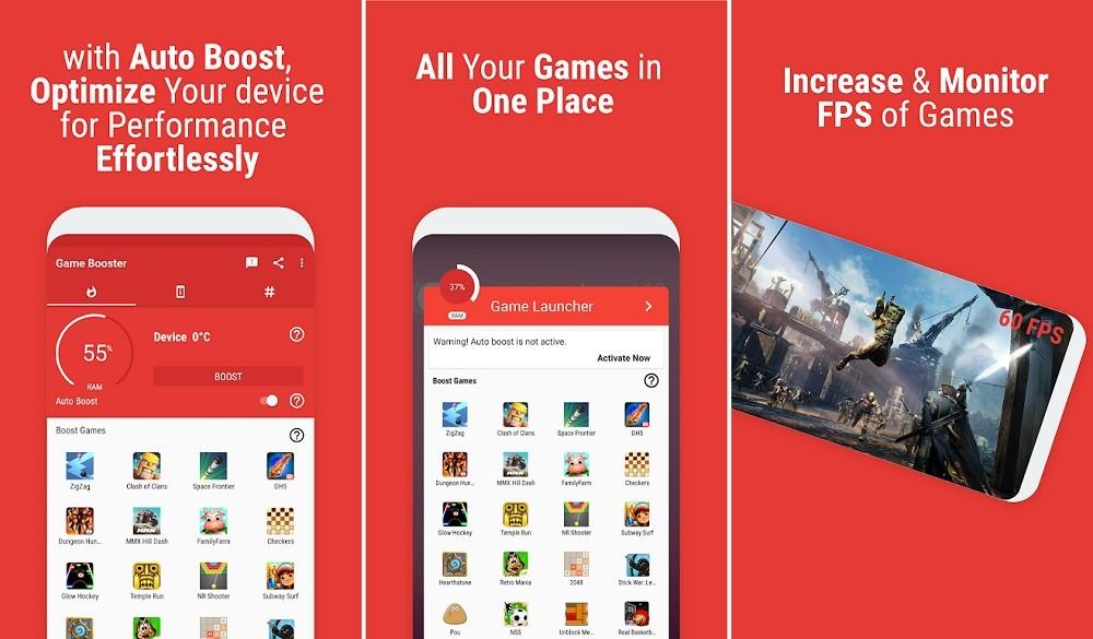Phần mềm giảm LAG khi chơi game trên Android - Game Booster (BGNmobi)