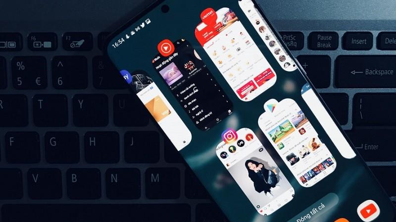 Đa nhiệm trên điện thoại Android