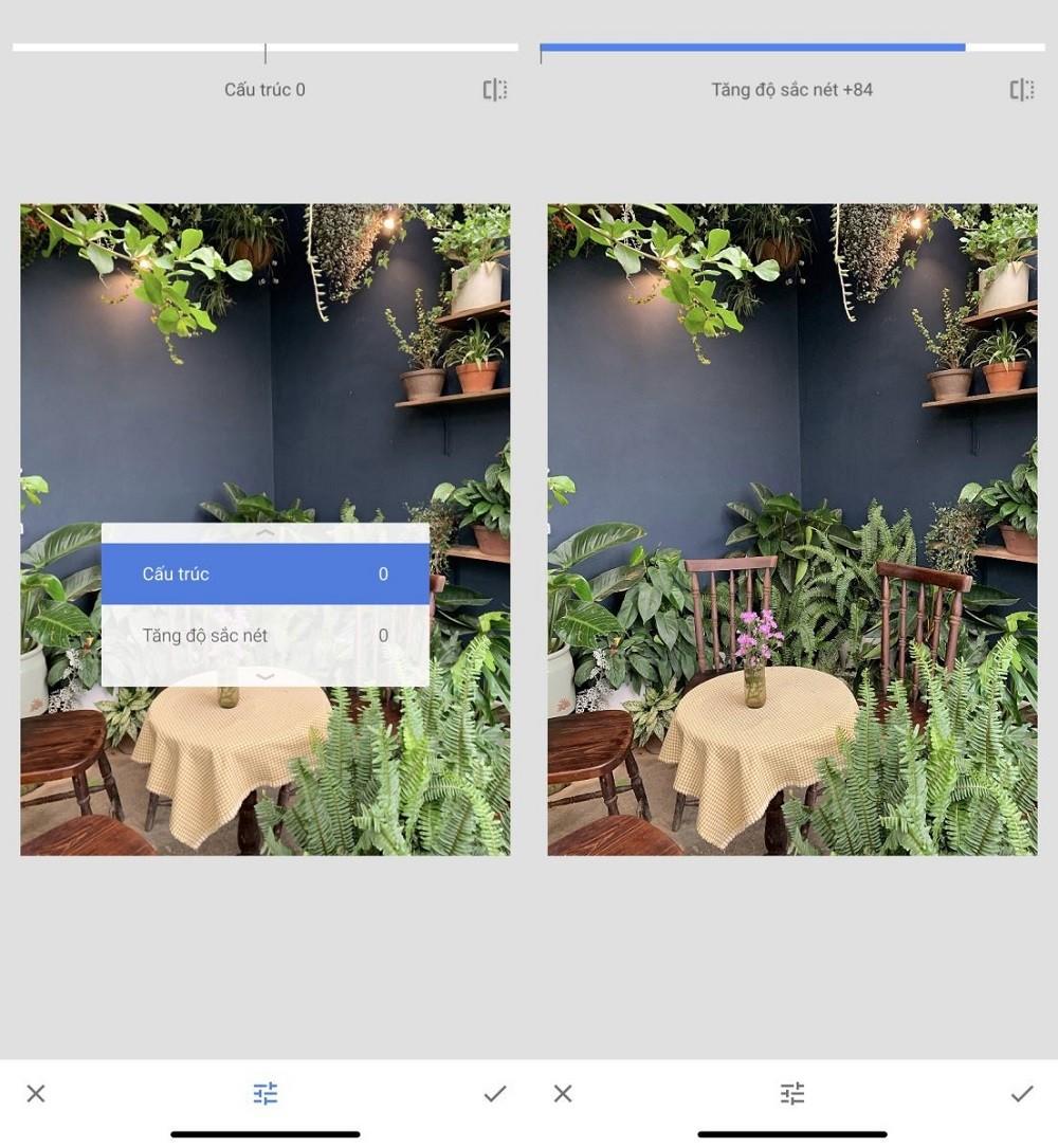 Làm ảnh sắc nét với ứng dụng Snapseed