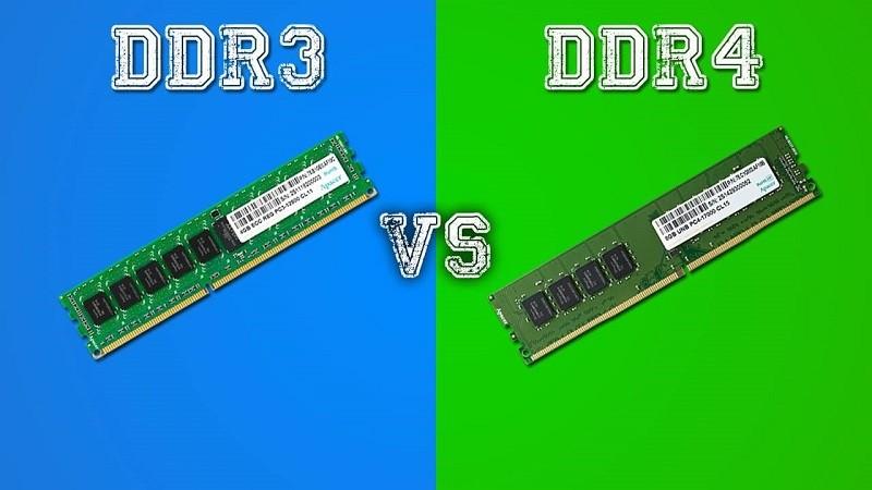 Phân biệt RAM DDR3 và DDR4