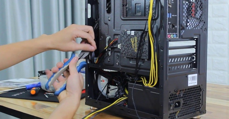 Cách chọn Vỏ Case Máy Tính: Hệ thống Dây cáp