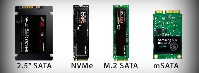 Phân loại ổ cứng SSD